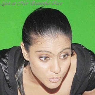 Look At Kajol Beautiful Face