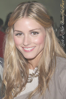 Olivia Palermo Long Blonde Hairstyle