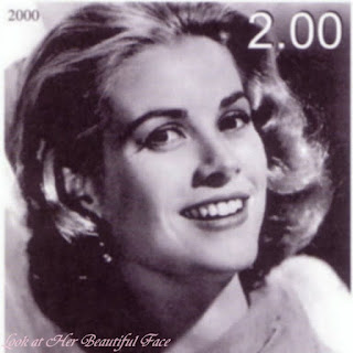 Grace Kelly Beautiful Face