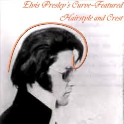 Elvis Presley's Curve Featured Hairstyle And Crest
