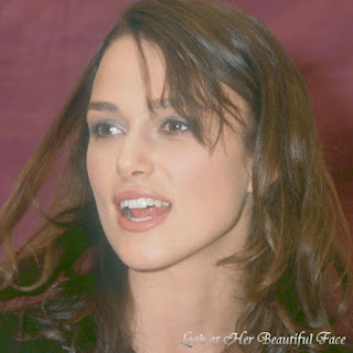 Keira Knightley Beautiful Face