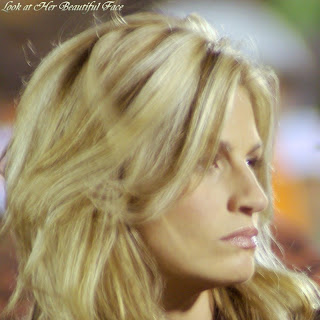Erin Andrews Macho Facial Expression