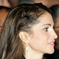 Look At Rania Al Abdullah (Queen Rania Of Jordan) Beautiful Face