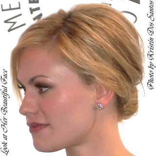 Anna Paquin Beautiful Face In Side View