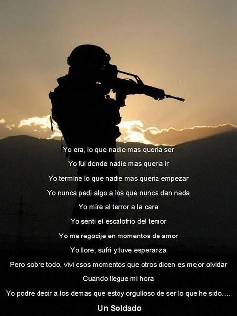 que es un soldado??