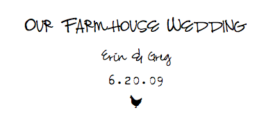 Our::Farmhouse::Wedding