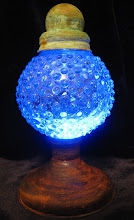 Blue Airship Tracking lamp