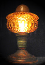 amber Airship tracking Lamp