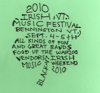 Bennington (VT) Irish Festival - Labor Day Weekend Irish+Festival+Art