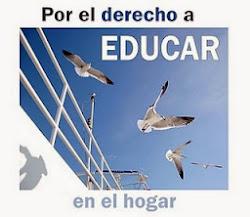 Apoyamos la Educación en Casa de familias Colombianas, Españolas y de otras partes del mundo.