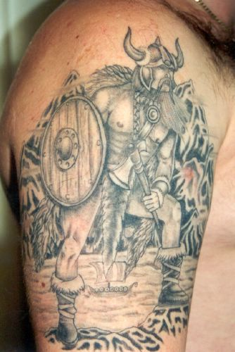 tattoos Tattoos devil head great viking tattoo