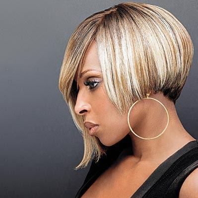 Hair Color  Cuts on Black Short Hair Cuts Styles  African American Women Hair Color
