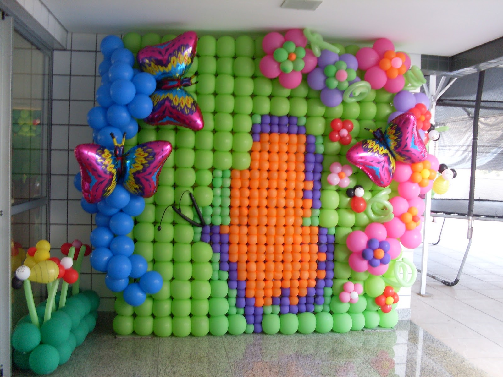 """decoracao de balões jardim encantado:Chocomel Festas e Decorações: JARDIM ENCANTADO """" 01 ANINHO BRUNA """""""