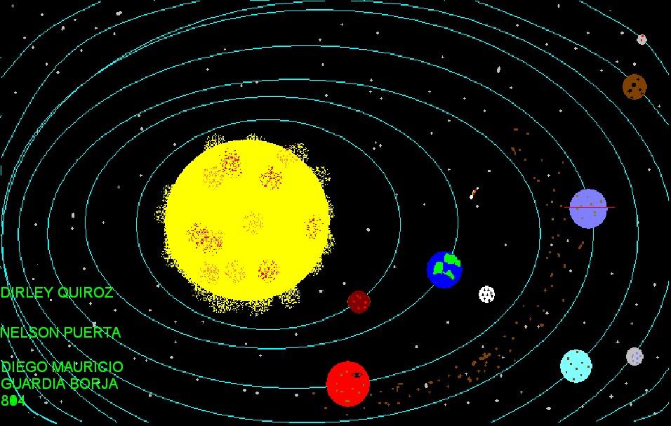 Diego nelson dirley dibujo el espacio - Dibujos infantiles del espacio ...