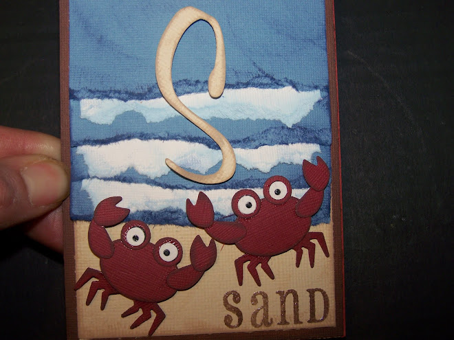 Beach Garland Waves & Crabs