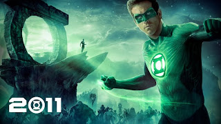 Green Lantern Superhero movie poster