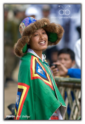 A Tibetan lady enjoying the PPWF