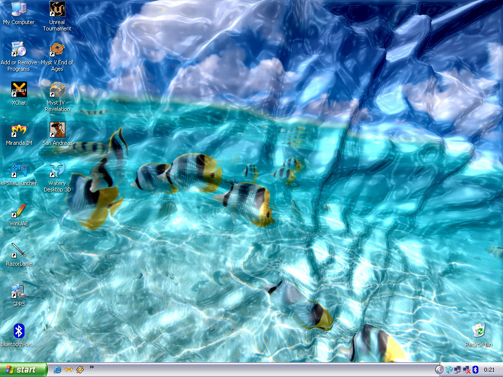 watery desktop 3d learn all pc tips and tricks
