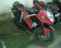 Fake Hayabusa Side Shot