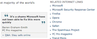 Using IE? Try one of these free alternatives that DON'T SUCK LIKE IE DOES