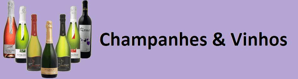 CHAMPANHES & VINHOS