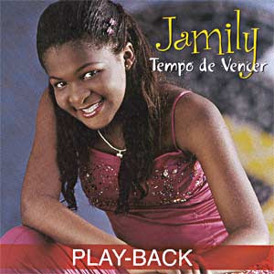 Jamily - Tempo de Vencer (Playback) 2002