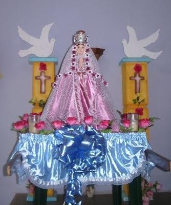Sencilla imagen de la Virgen del Valle, patrona del Oriente de