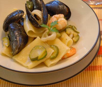 Paccheri And Clams Recipes — Dishmaps