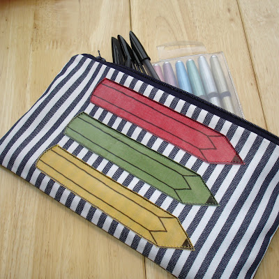 sewing patterns: pencil case
