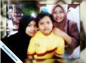 with my lil bro n sis..