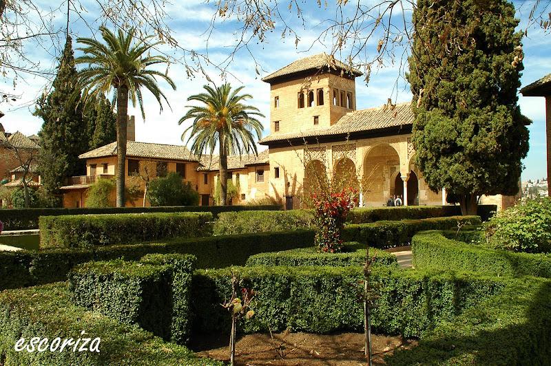 Escoriza jardines de la alhambra granada - Jardines granada ...