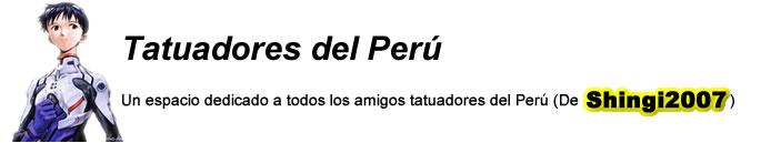 Tatuadores del Peru