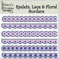 Eyelets Lace & Floral Borders