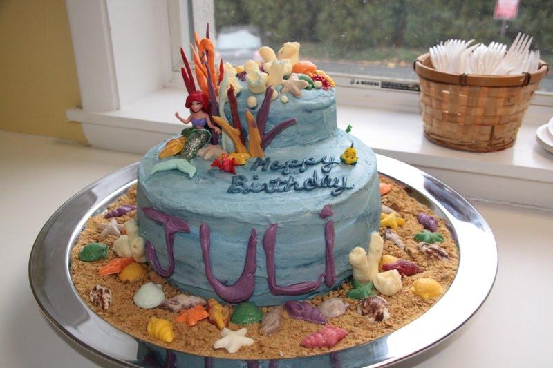 Nonna Cakes Under The Sea Birthday Cake