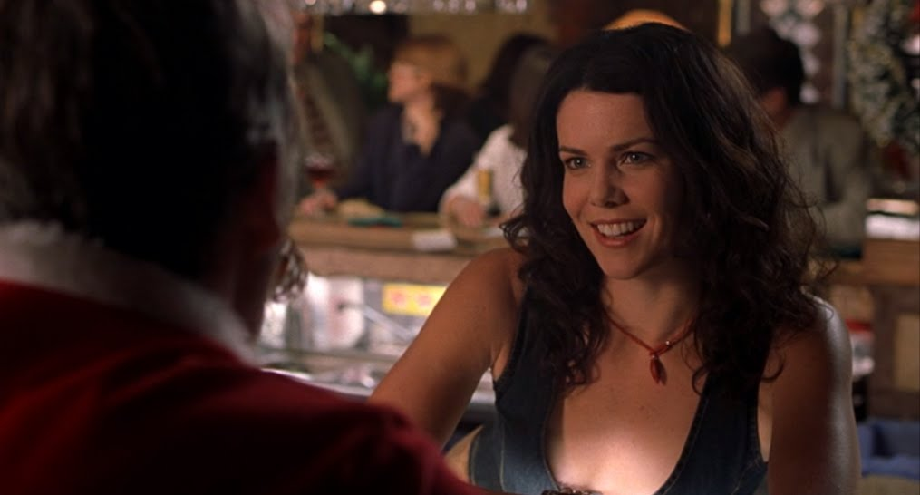 SOMETHING FOR THE CHRISTMAS WEEKEND: Lauren Graham in Bad Santa