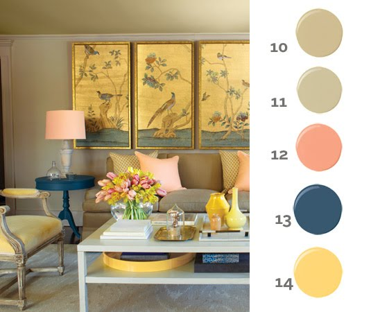 Superior Ralph Lauren Paint Retailers #4: 2-yellow-peach-living-room.jpg