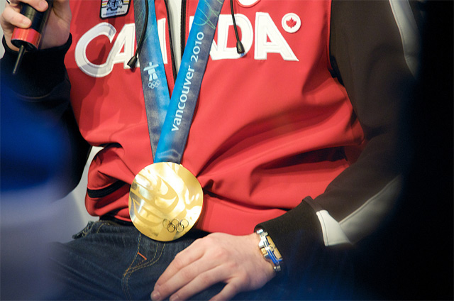 Canada Olympic Gold Medal