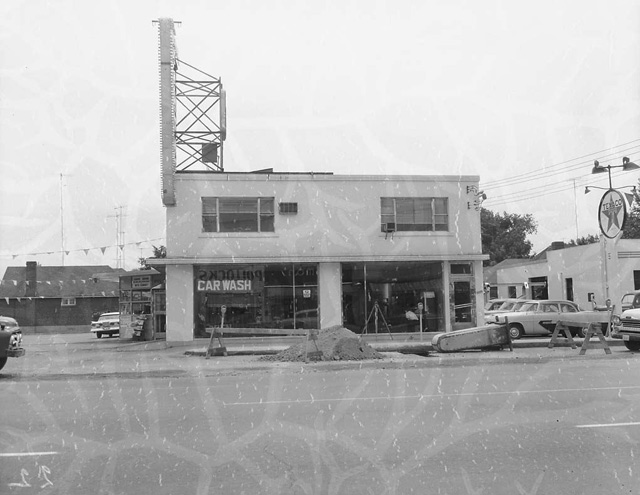 Royal York and Bloor Street West Kingsway Car Care 1958