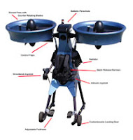 Jet Pack Trek Aerospace Springtail Exoskeleton Vehicle