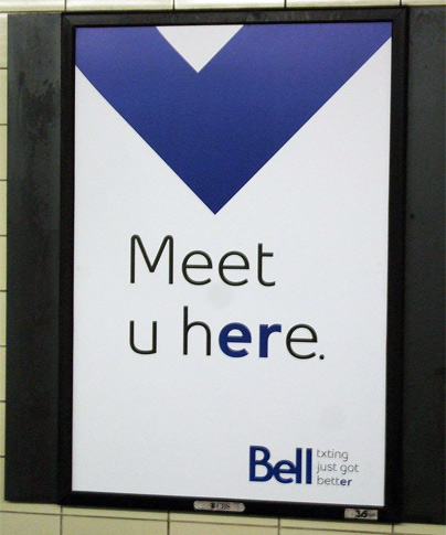 Bell Er Campaign Poster
