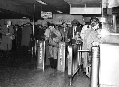 TTC King Subway Station 1960