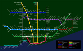 TTC Fiction Map