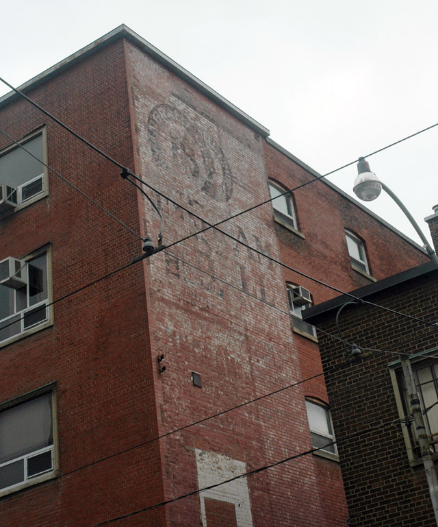 Toronto Ghost Signs Ingram Bell
