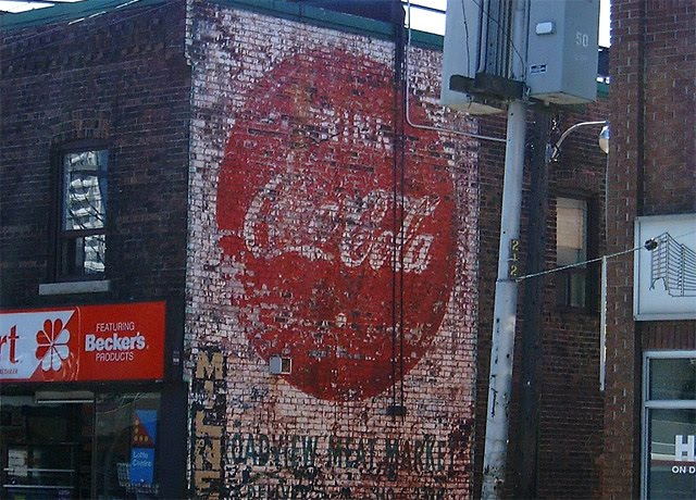 Toronto's Ghost Signs Coca-Cola