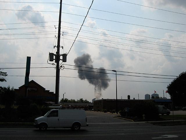Toronto Transformer Explosion Kipling