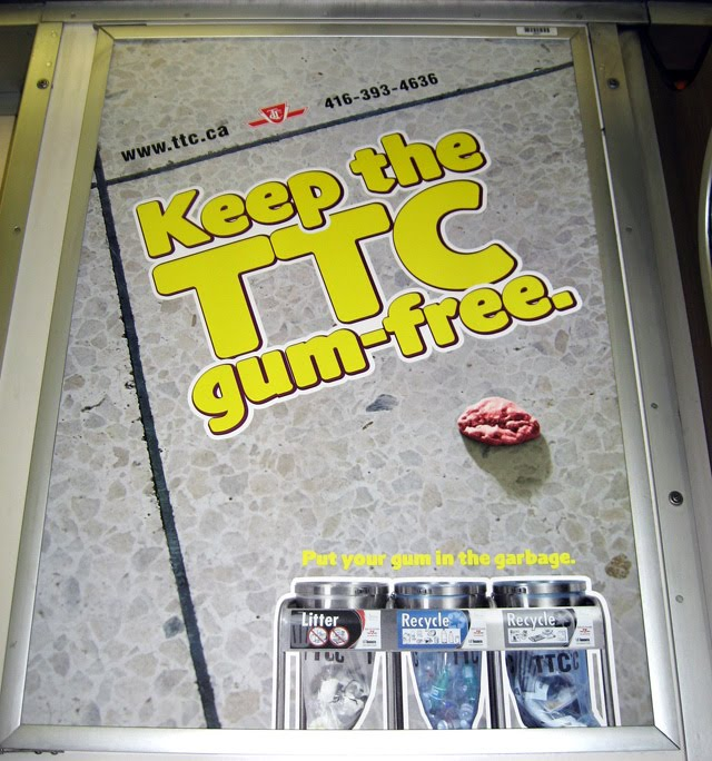 Keep the TTC Gum Free