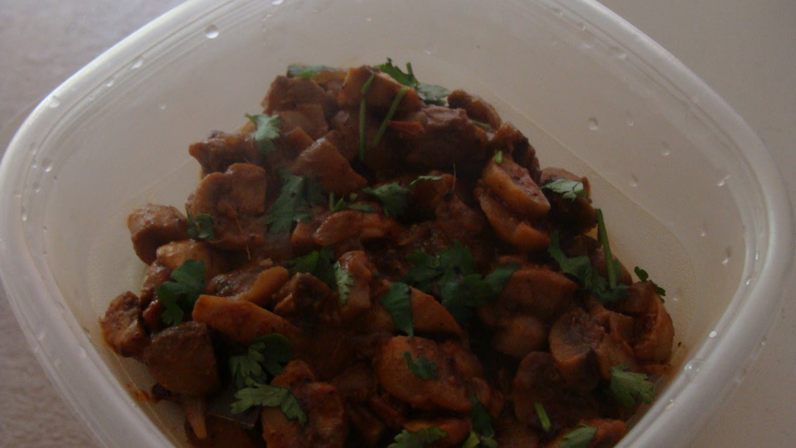 Krithi's Recipes: Mushroom Pepper Fry