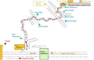Mapa do Sitio