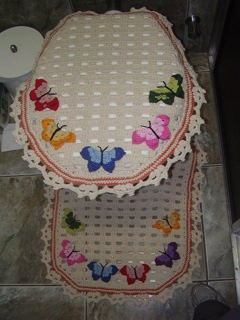 Juego De Baño A Crochet Patrones:Tığ İşi Örgü Klozet Takımı Örnekleri – canozum77 – Blogcucom