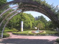 植物園のメインシンボル?花時計